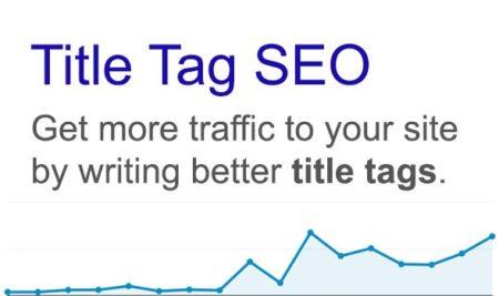 بهینه سازی عنوان یا Title صفحات در سئو