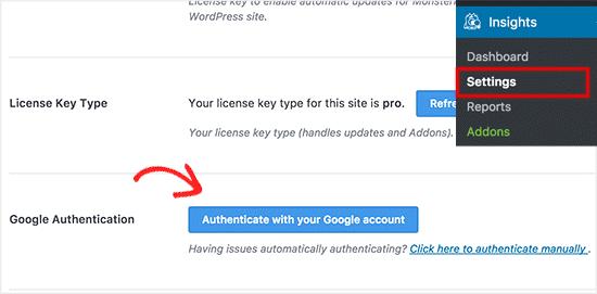اتصال گوگل آنالیز به وردپرس