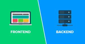 برنامه نویسی front-end و برنامه نویسی back-end